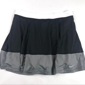 Nike DriFit Knit Tennis Skirt Skort Sz Large